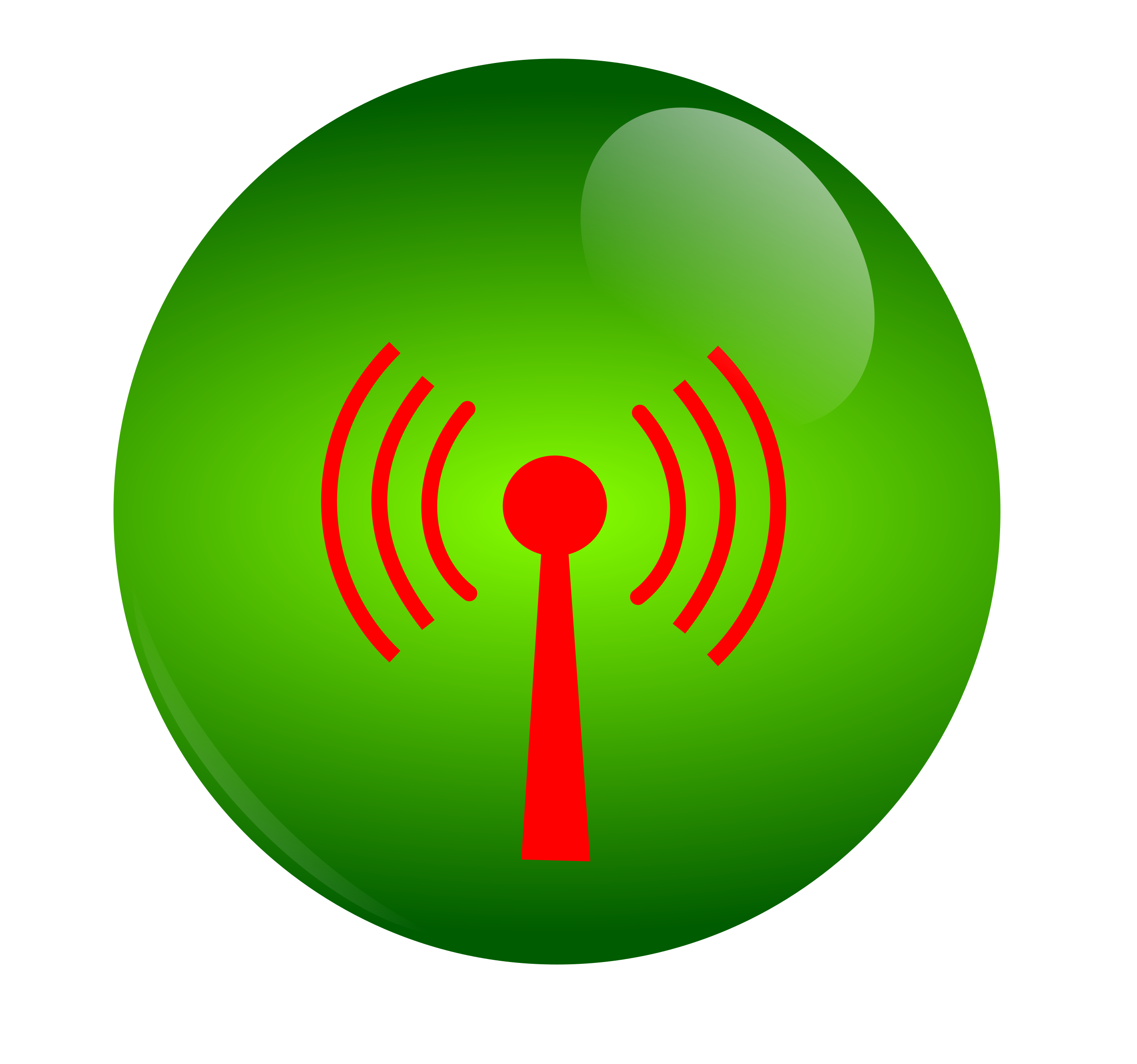 Frisbee clipart green. Wifi big image png