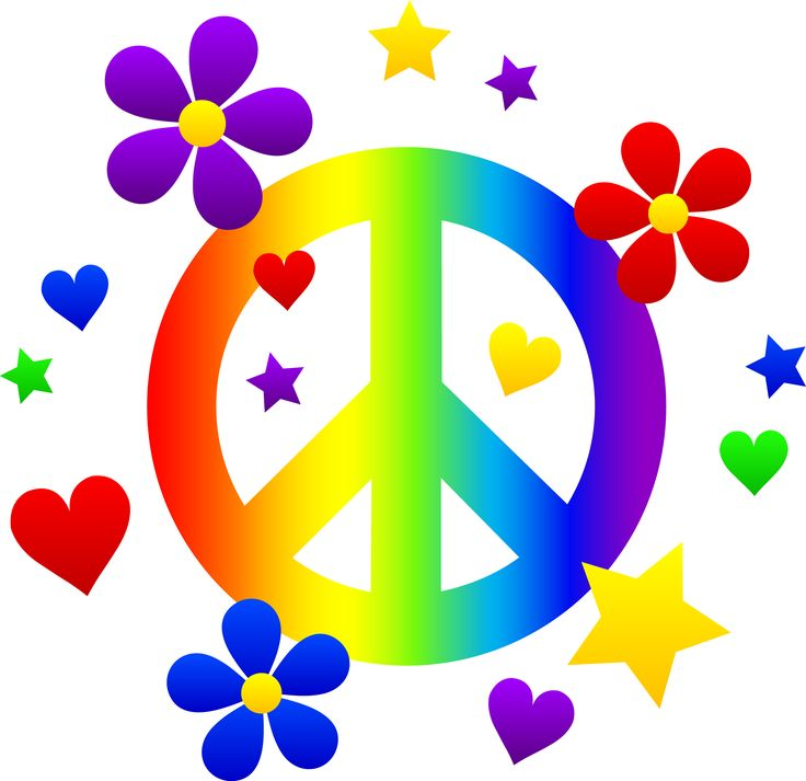 Frisbee clipart hippie. Best peace signs