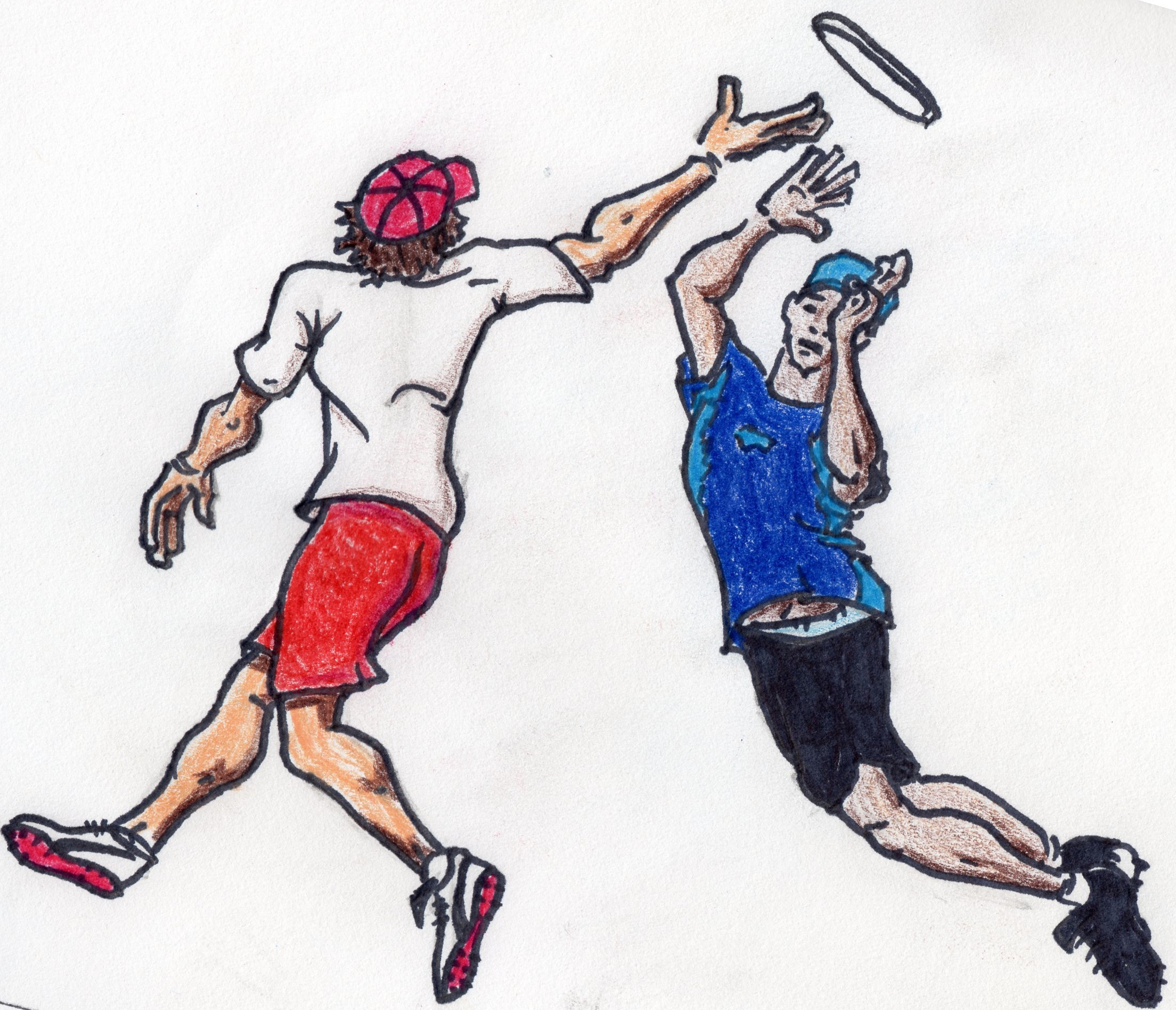 Frisbee clipart ultimate frisbee. Drawing at getdrawings com