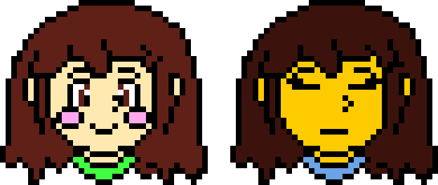 Frisk head png. Undertale chara and sprites