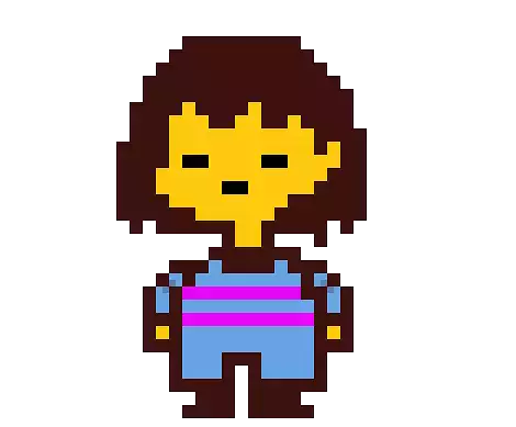 Undertale main character png. Image frisk render by