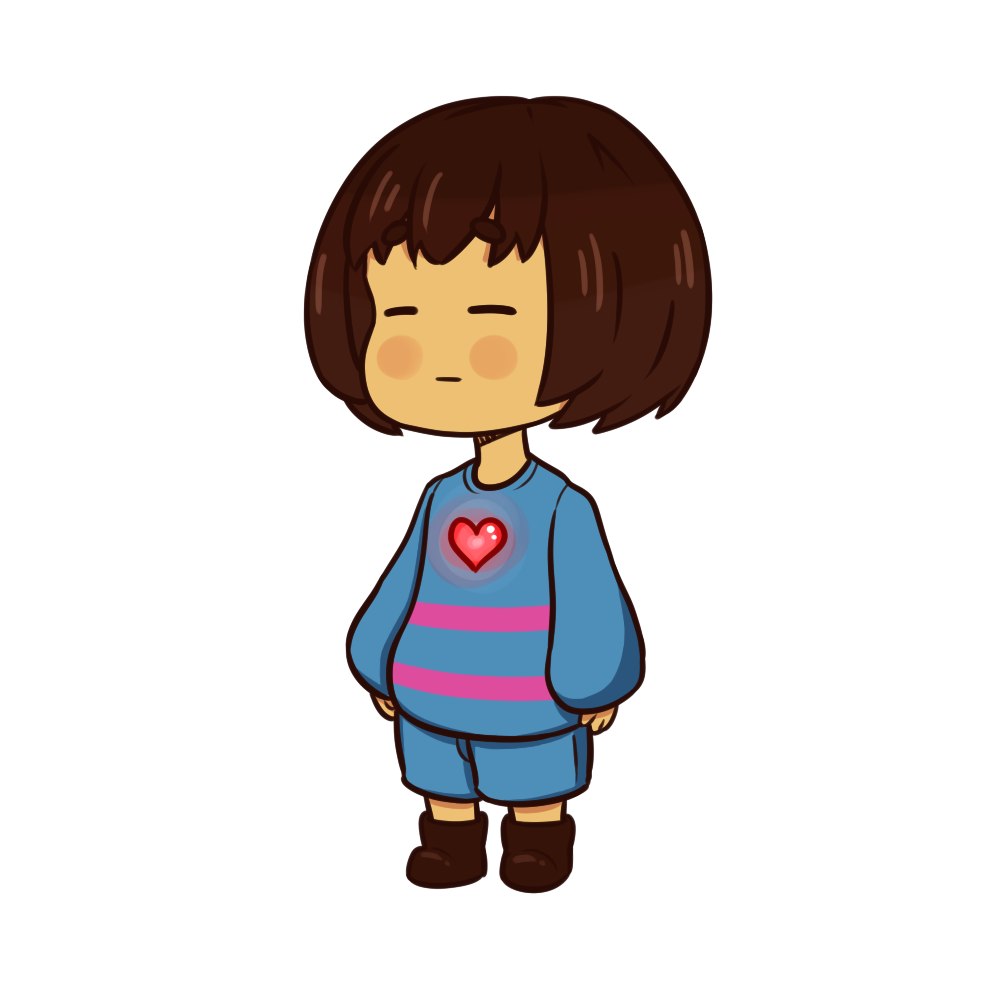 Frisk head png. Image undertale by charliesgallery