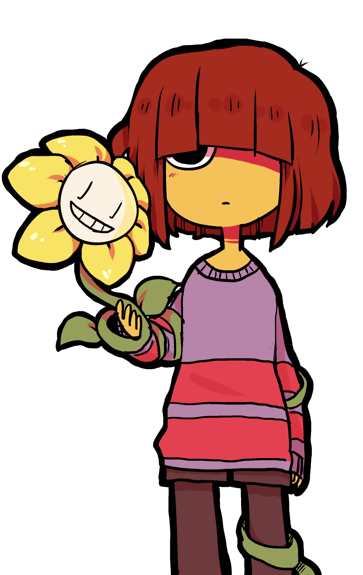 Frisk undertale png. Chara controlled christmas pesquisa