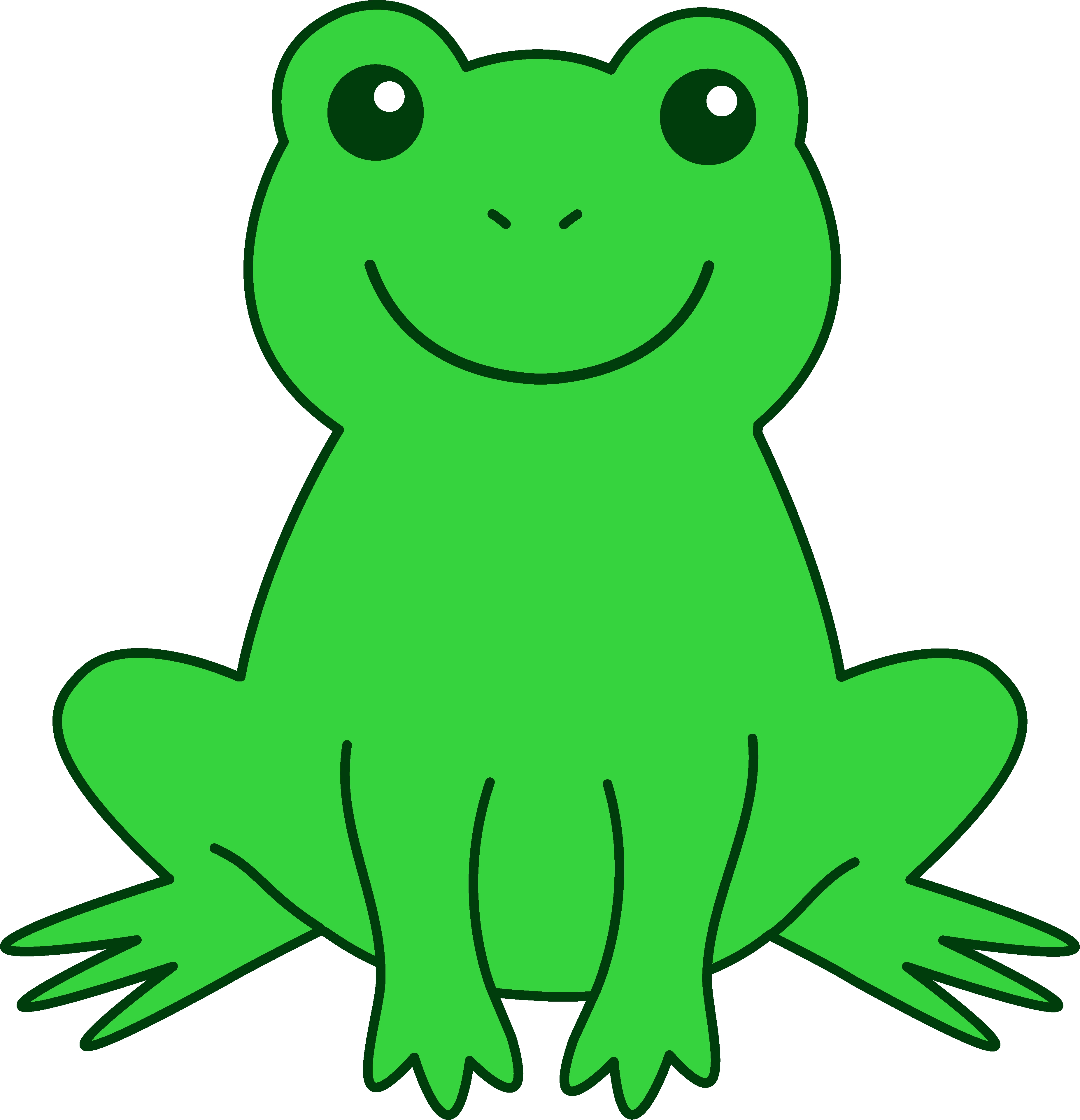 Frog clipart. At getdrawings com free