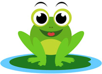 Frog clipart. Free clip art pictures