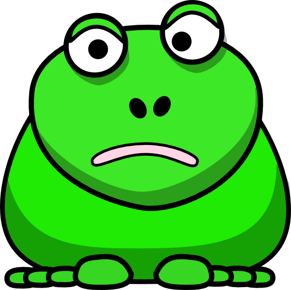 frogs drawing animated