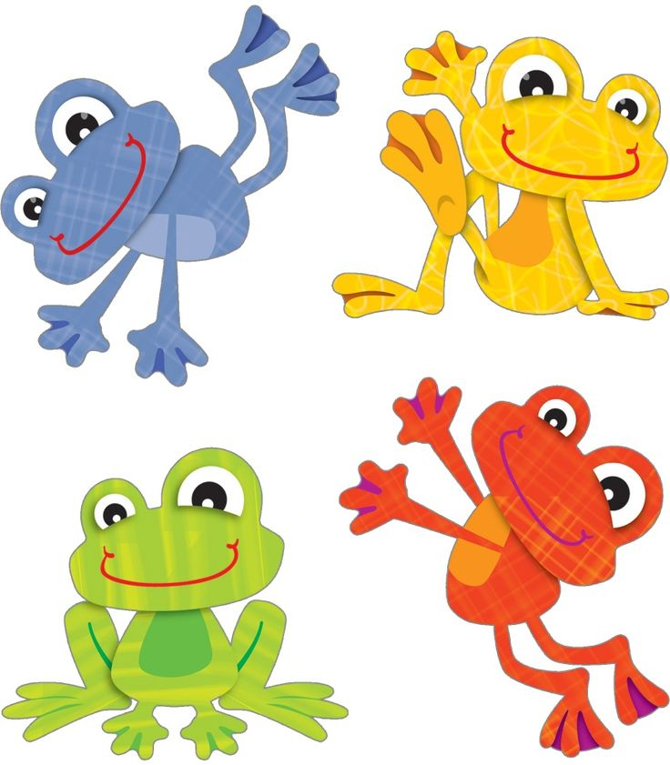 Frogs clipart printable. Frog life cycle at