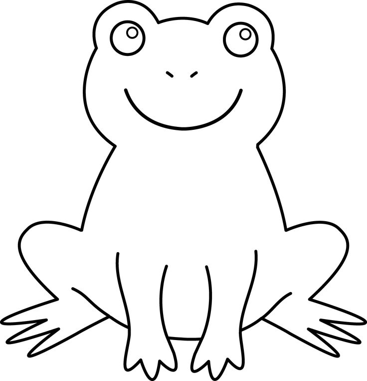 Frog clipart colored. Best cartoons ideas on