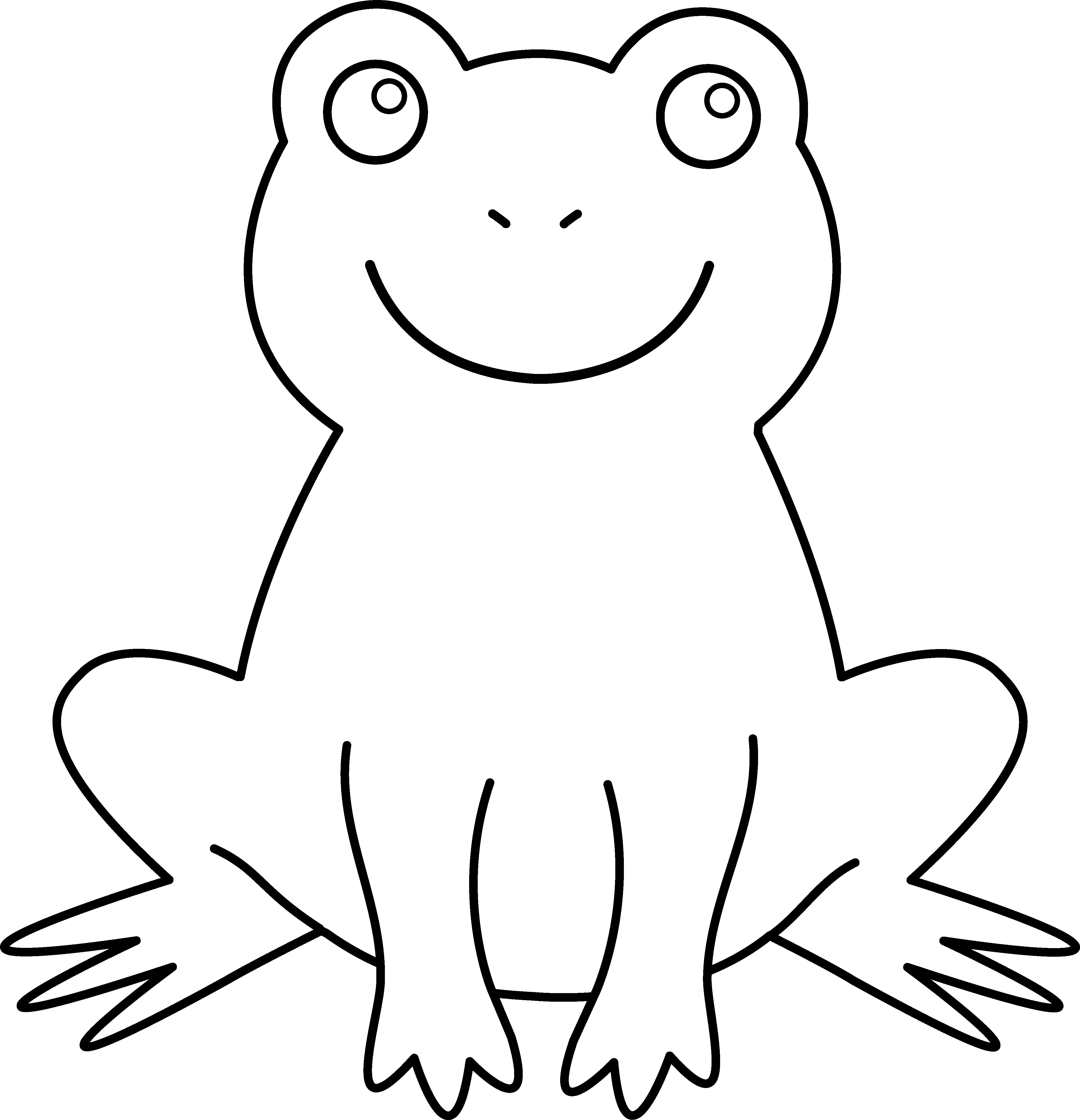 drawing creatures frog