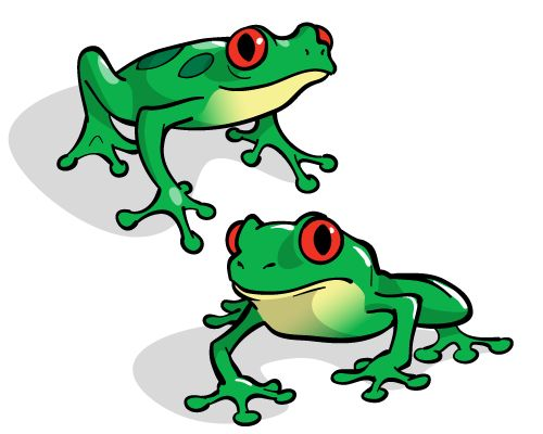 Frog clipart muscular. Best images on pinterest
