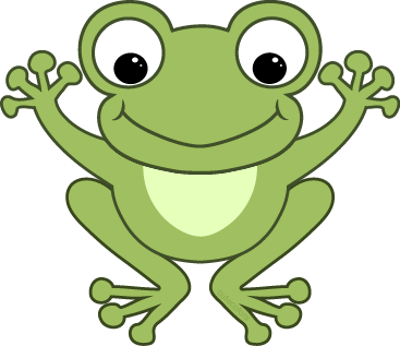 Frogs clipart green frog. Cute best ranas clips