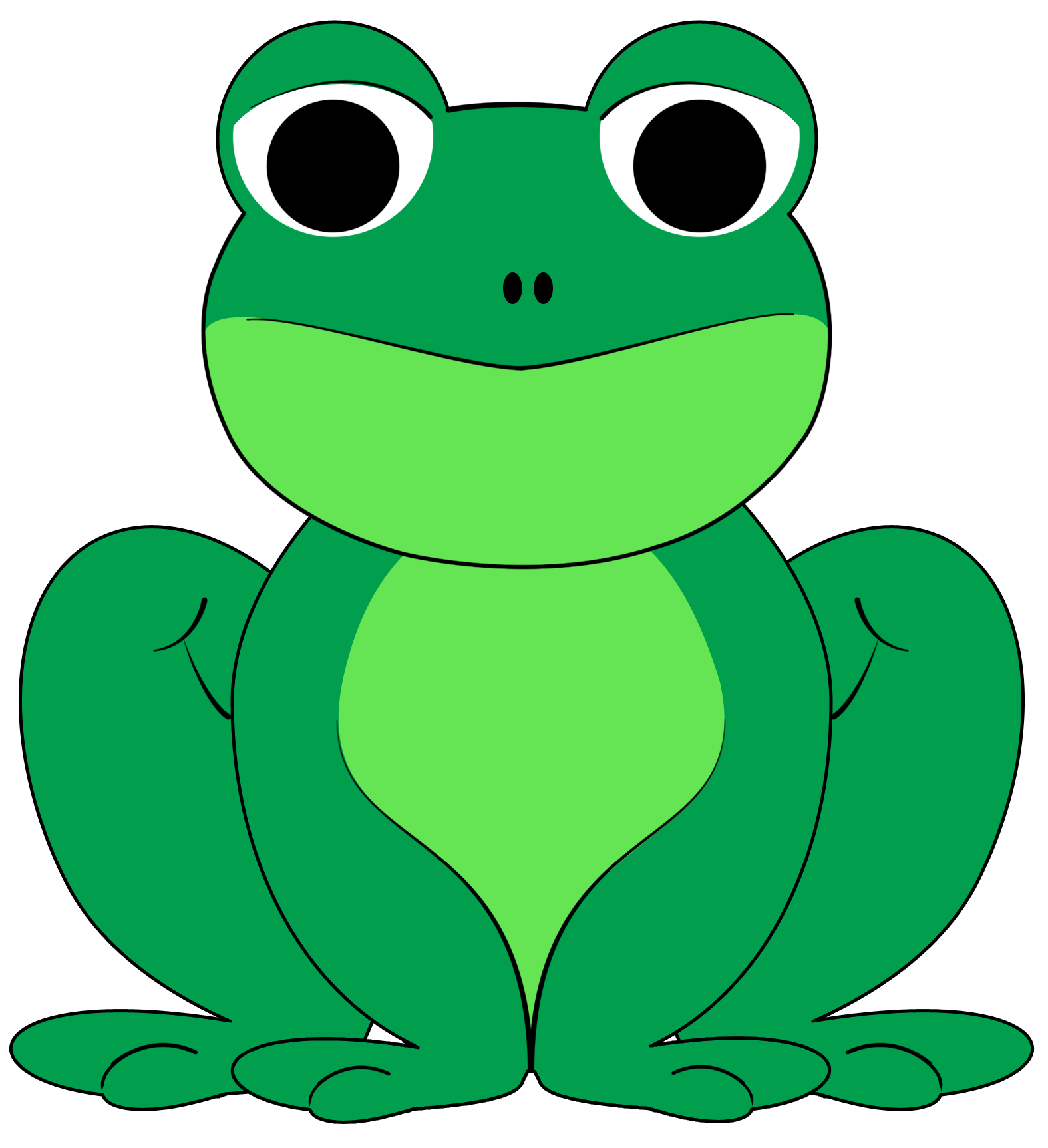 Frogs drawing crown. Frog prince silhouette at