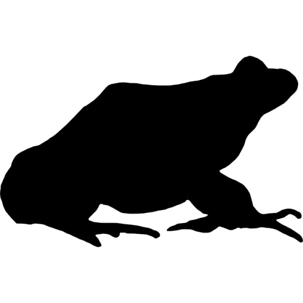 Frogs clipart shape. Frog icons free download