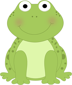Drawing frog froggy. Cute clip art frogs