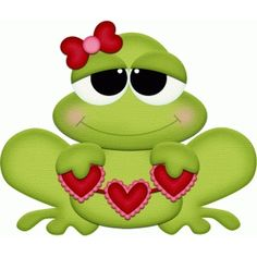 Frogs clipart shape. I think m in