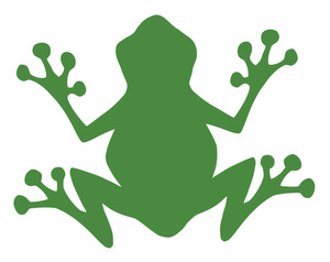 Frogs clipart tree frog. Image a green panda