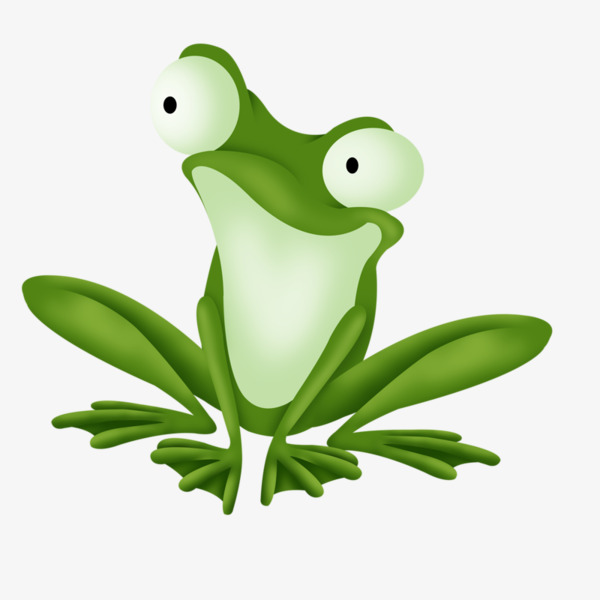 Frogs clipart tree frog. Cartoon green png image