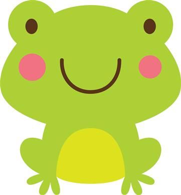 frogs clipart woodland