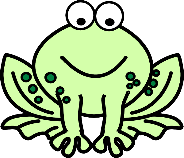 Frogs drawing animated. Red eyed tree frog