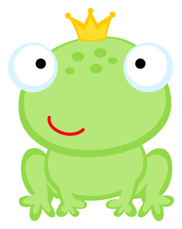 Frogs drawing crown. Minus say hello pinterest