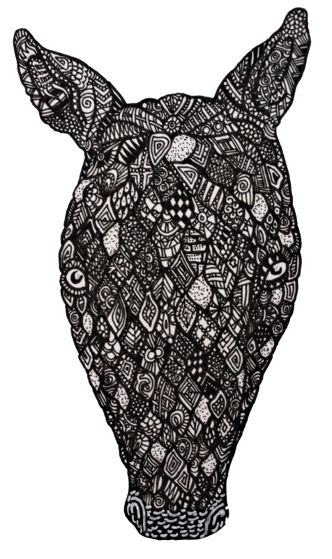 Kali drawing psychedelic. My drawings armadillo steemit