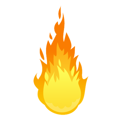Muzzle flash front transparent. Fuego dibujo png svg library download
