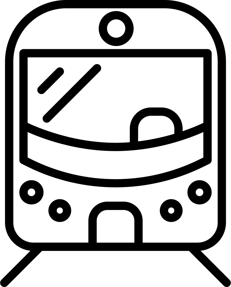 Front Of Train Transparent Clipart Free Download
