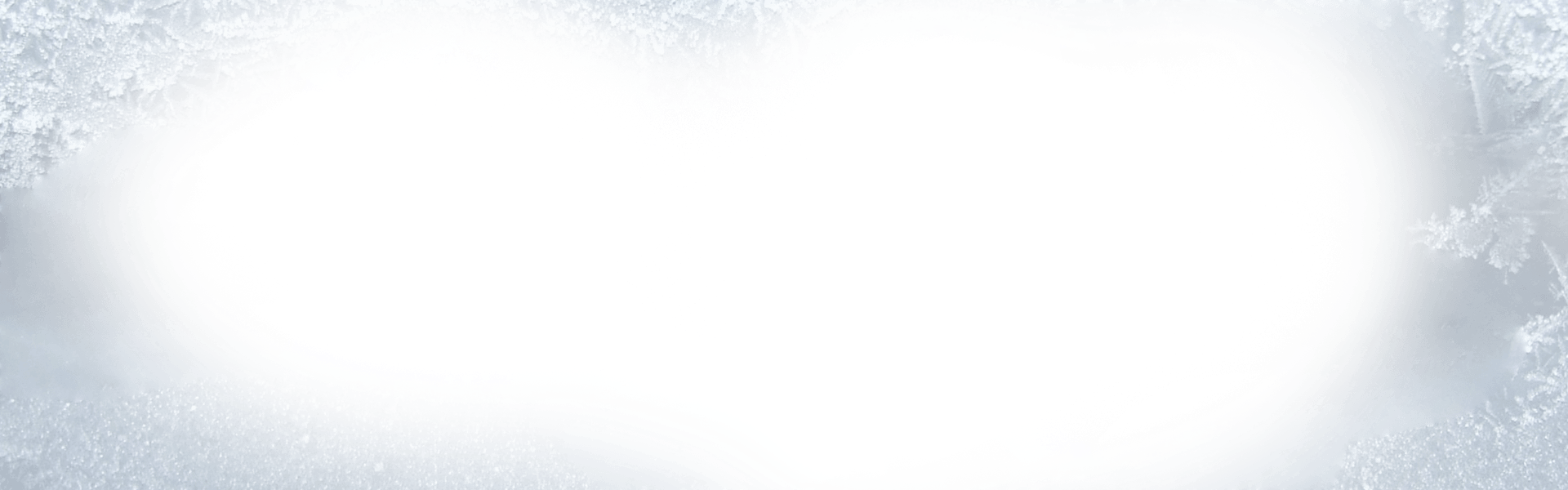 Banner ohio cryo my. Transparent frost vector library