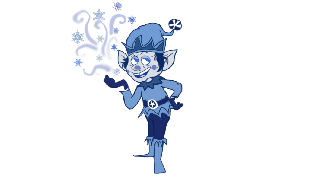 Frost transparent cartoon. Jack from frostys winter