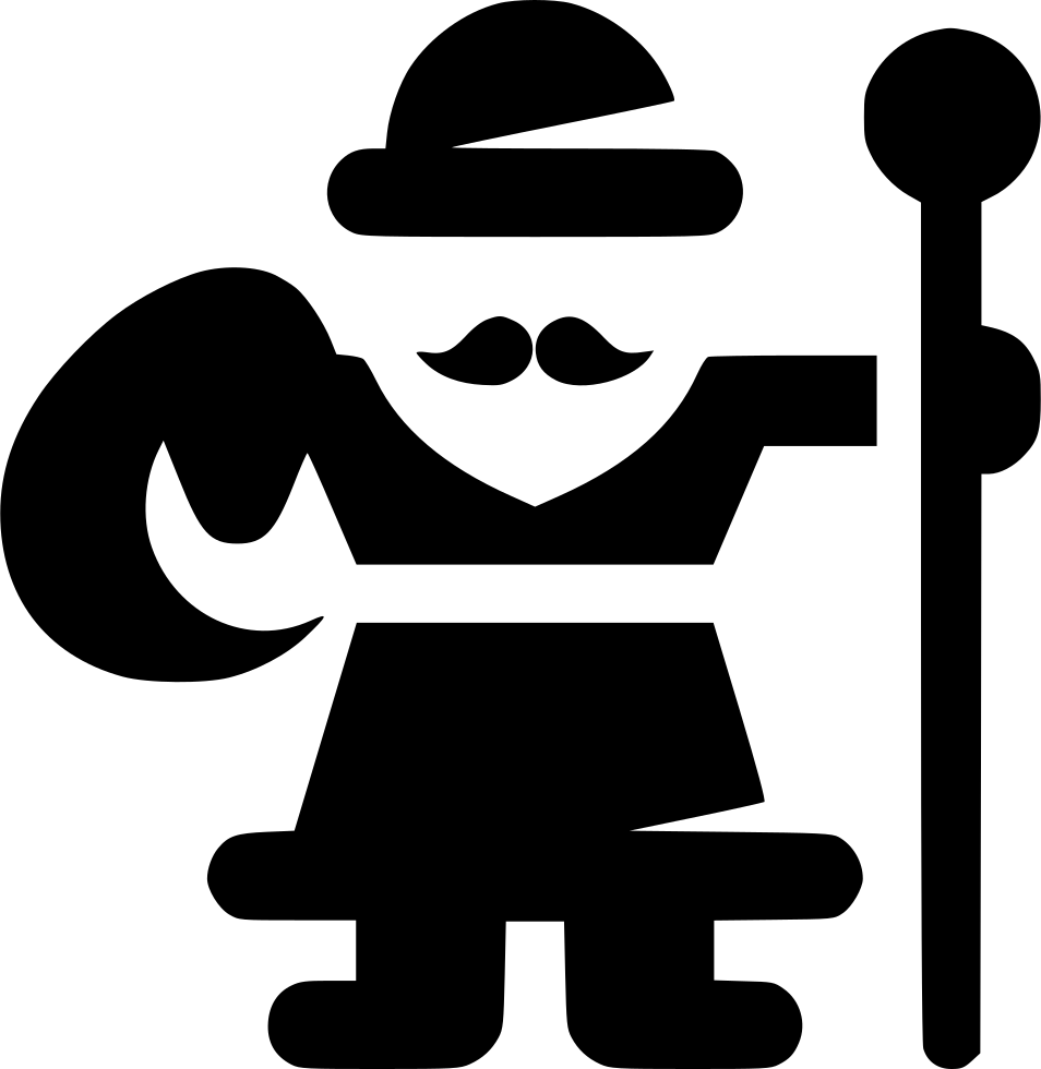 Frost transparent svg. Grandfather png icon free