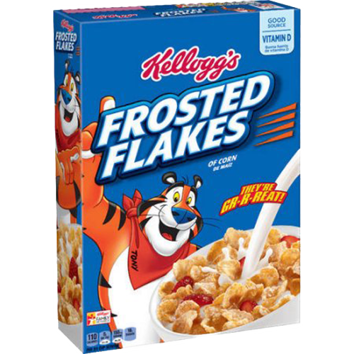 Frosted flakes cereal png. Oz yocart