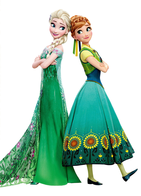 Frozen fever png. Image elsa and anna