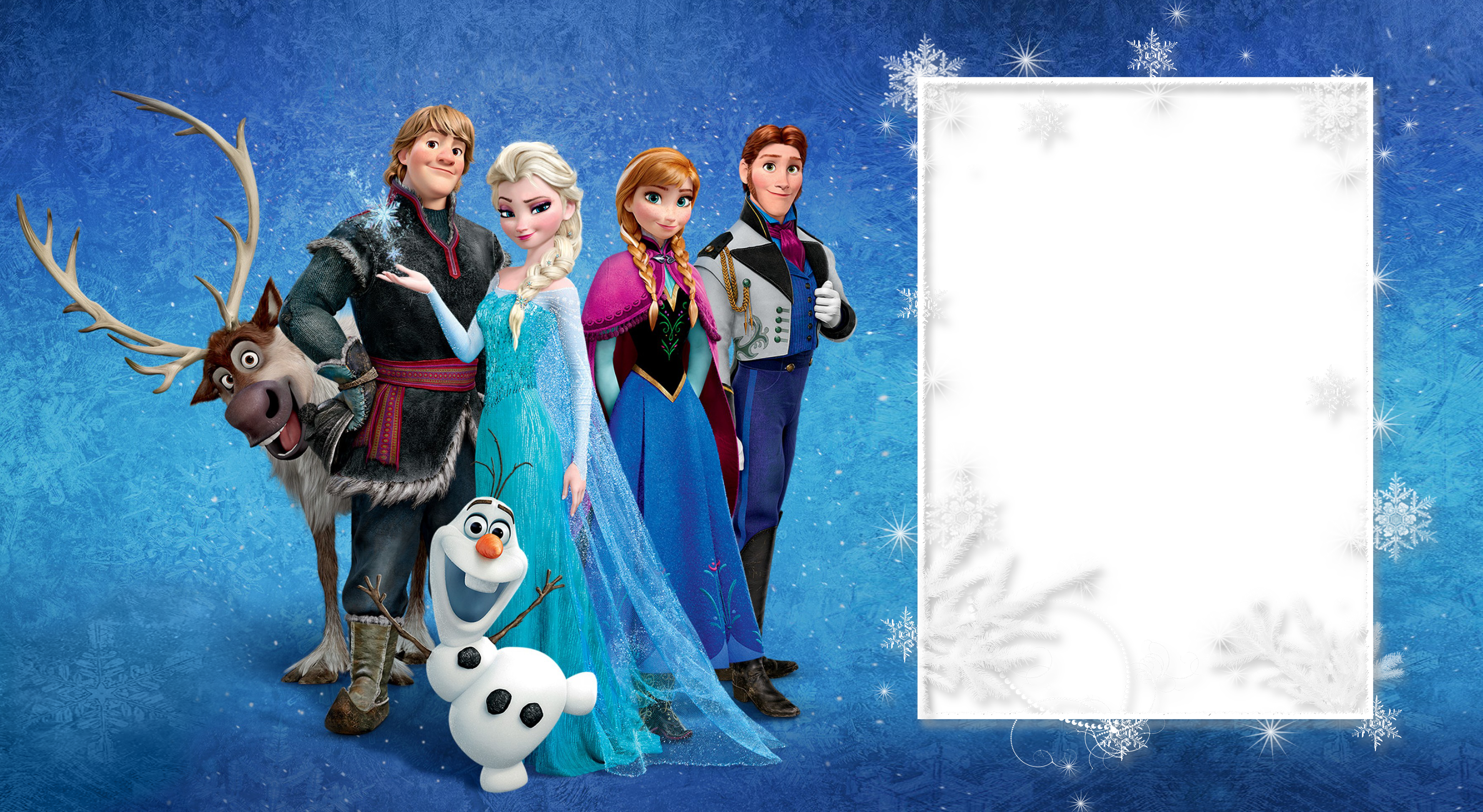 Frozen background png. Large transparent frame gallery