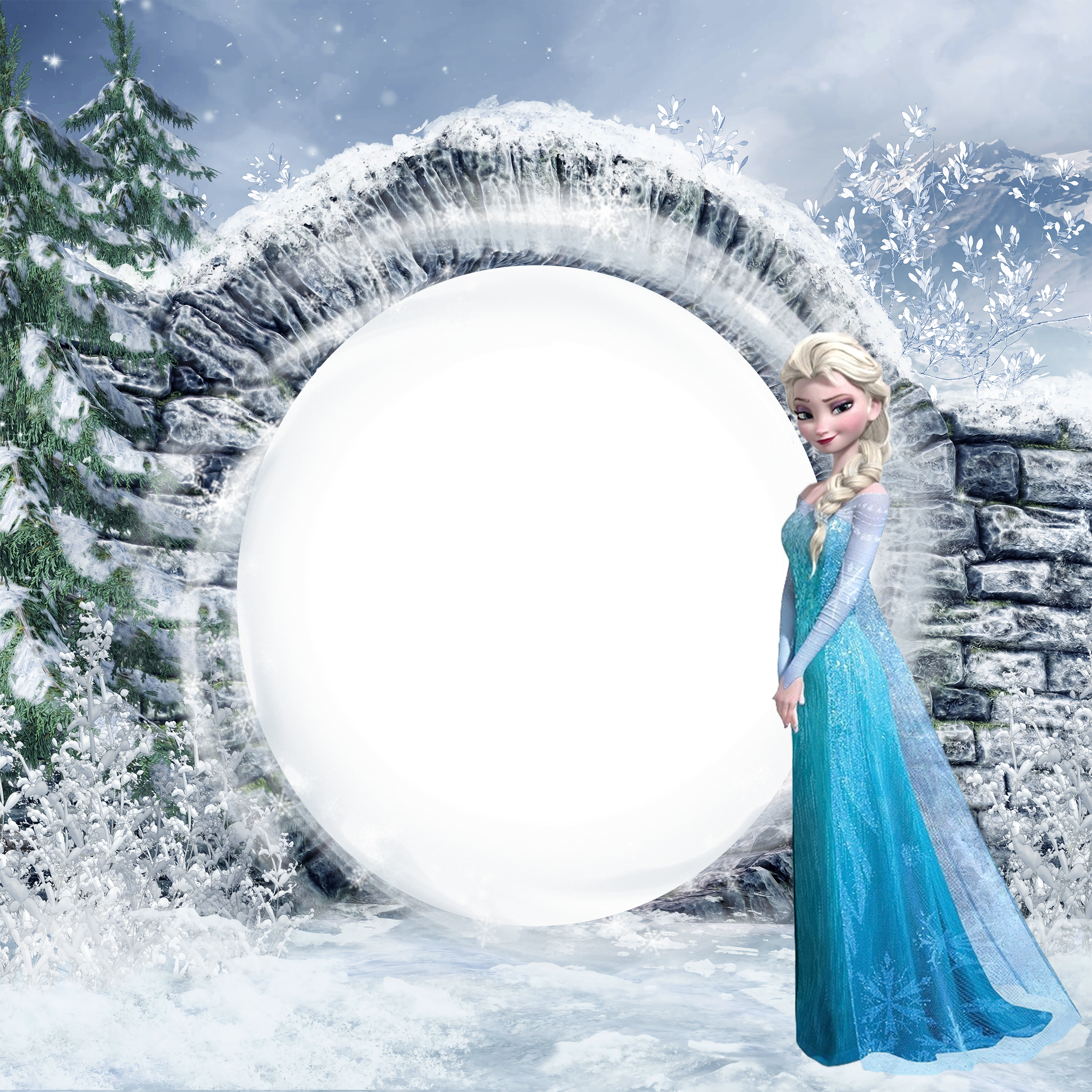 Frozen frame png. Elsa kids photo gallery