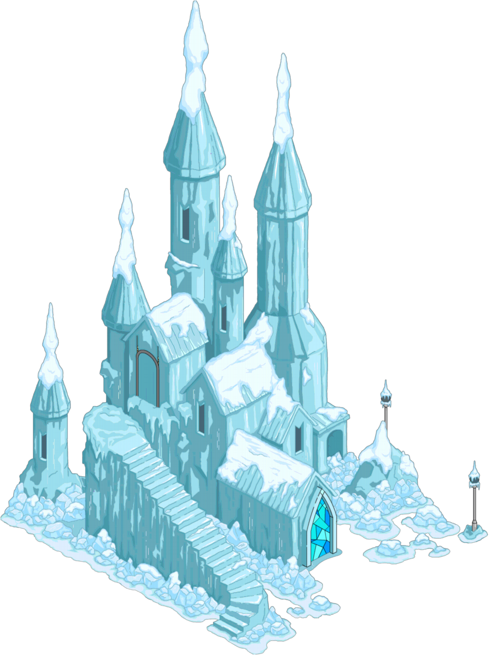 ice castle png
