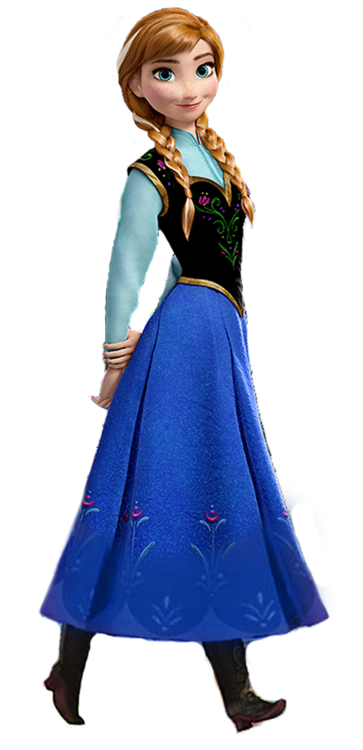 Character transparent frozen. Princess anna wazowski fictional