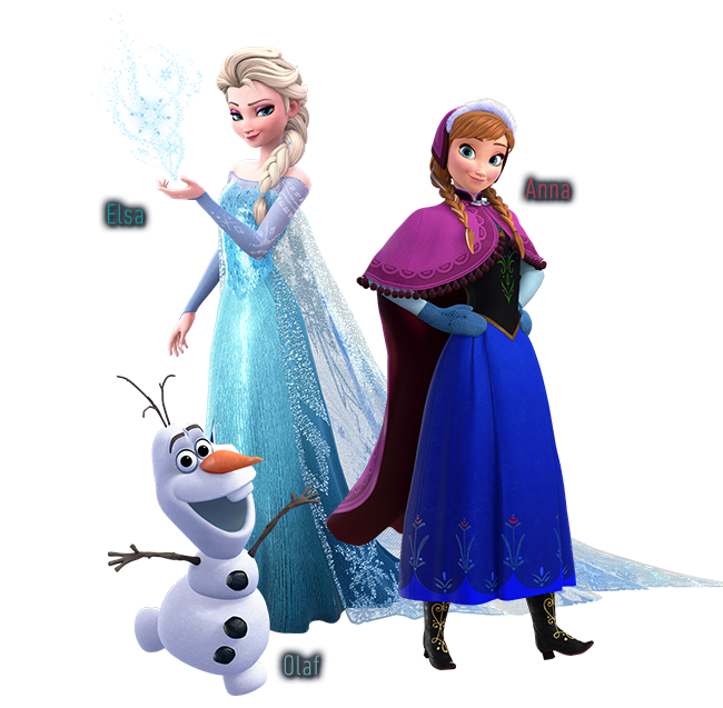 Frozen characters png. Images in collection page