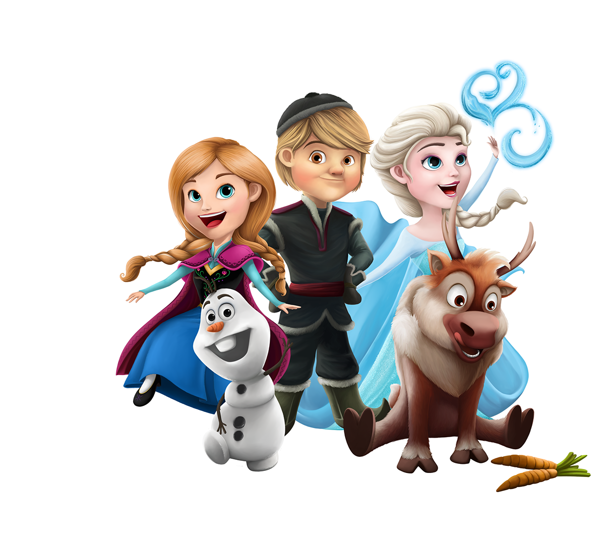 Character transparent frozen. Characters on behance