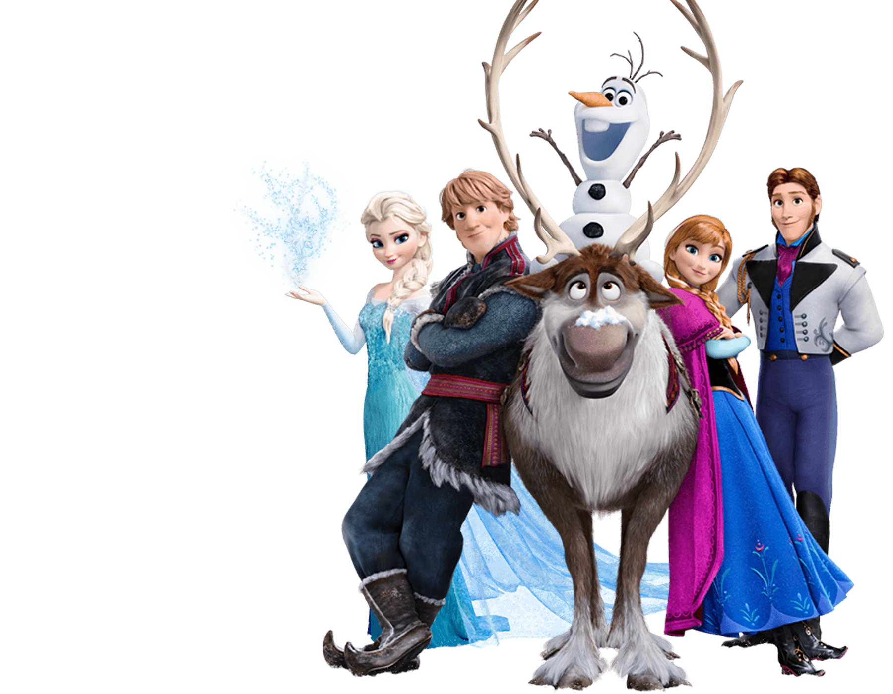 Character transparent frozen. Clipart kid disney printables