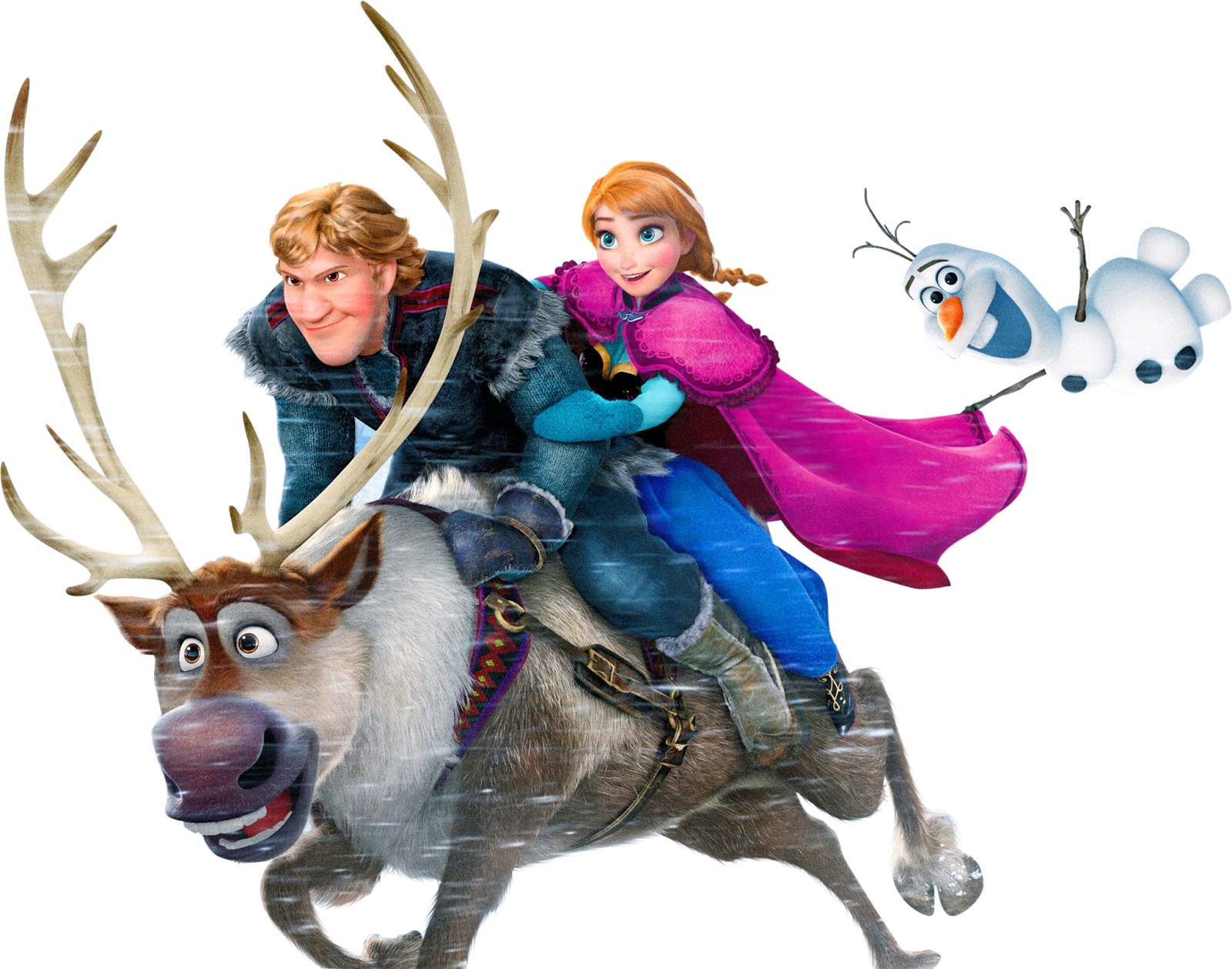 Character transparent frozen