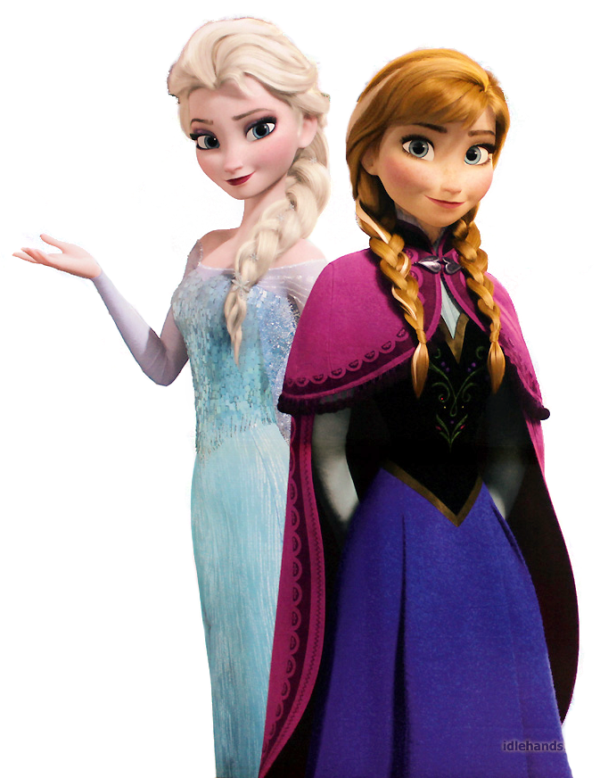 Elsa y ana png. Frozen images and anna