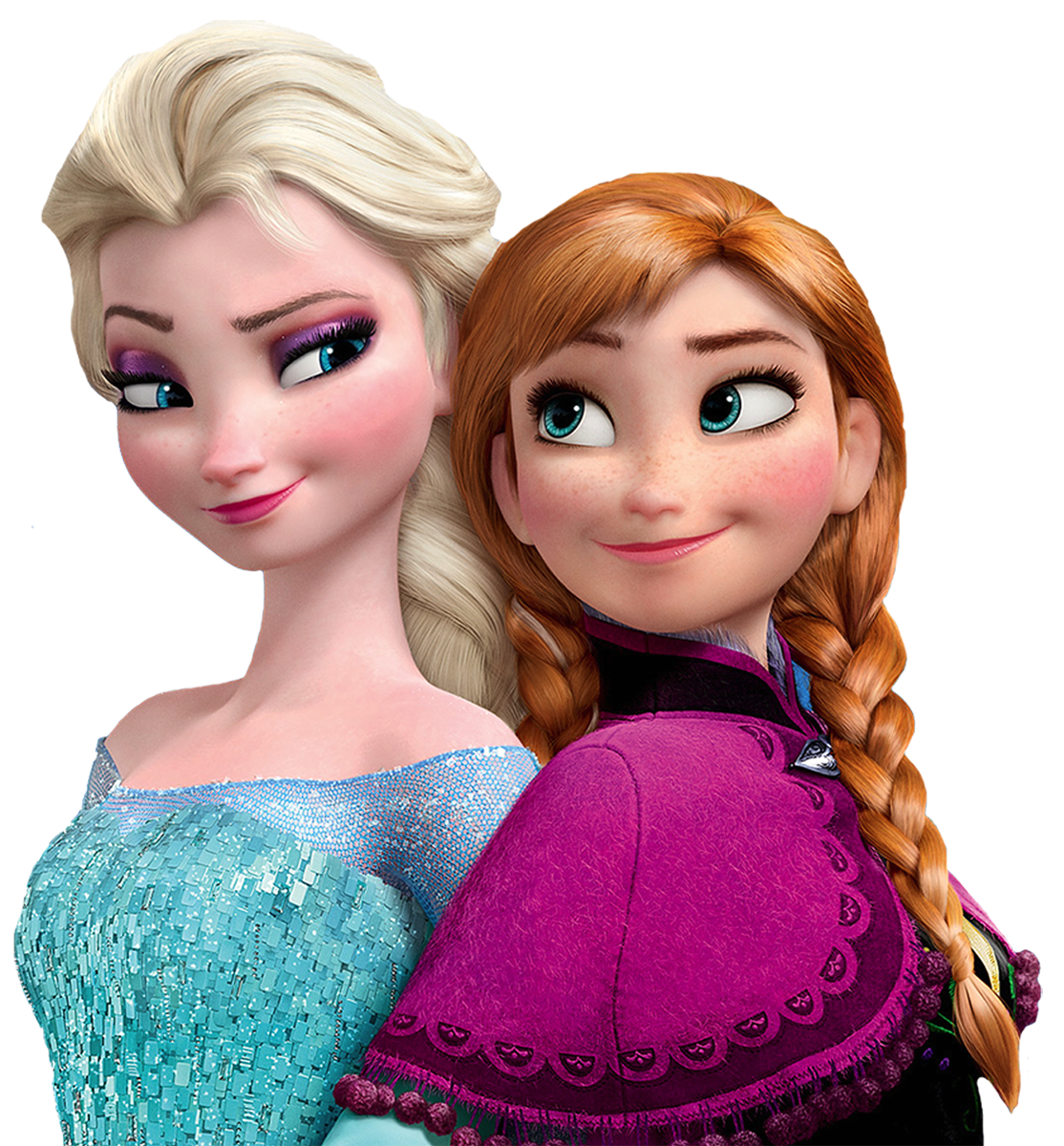 Frozen elsa and anna png. Sisters