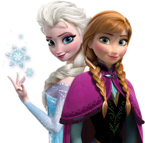 Frozen elsa and anna png. File