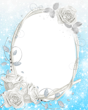 Frozen frame png. Photo frames roses
