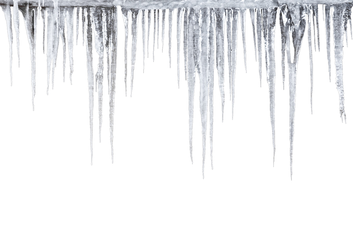 Icicle png images all. Icicles transparent frozen graphic black and white