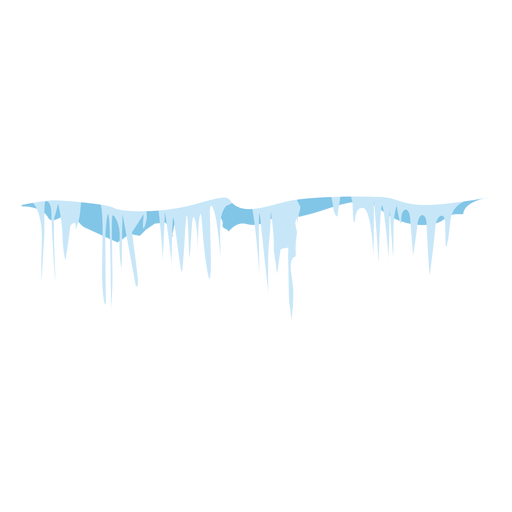 Vector icicles single. Frozen icon transparent png