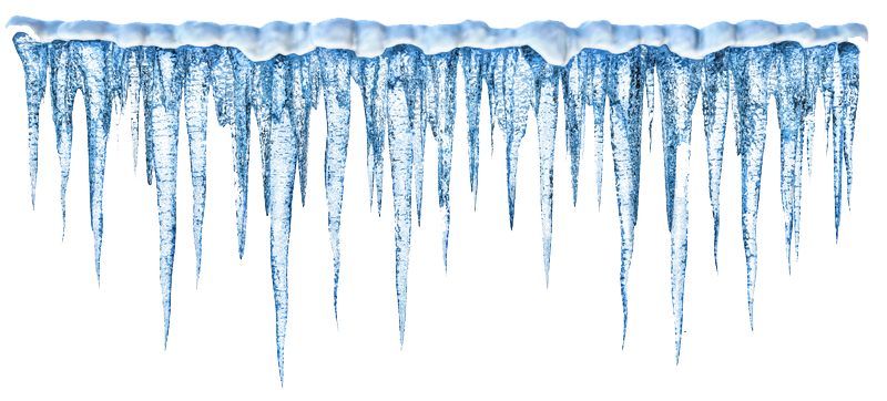 icicles drawing line