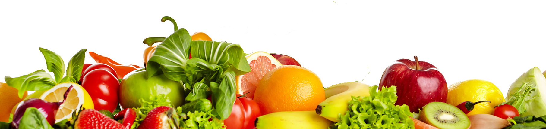 Fruits and veggies png. Healthy food transparent free