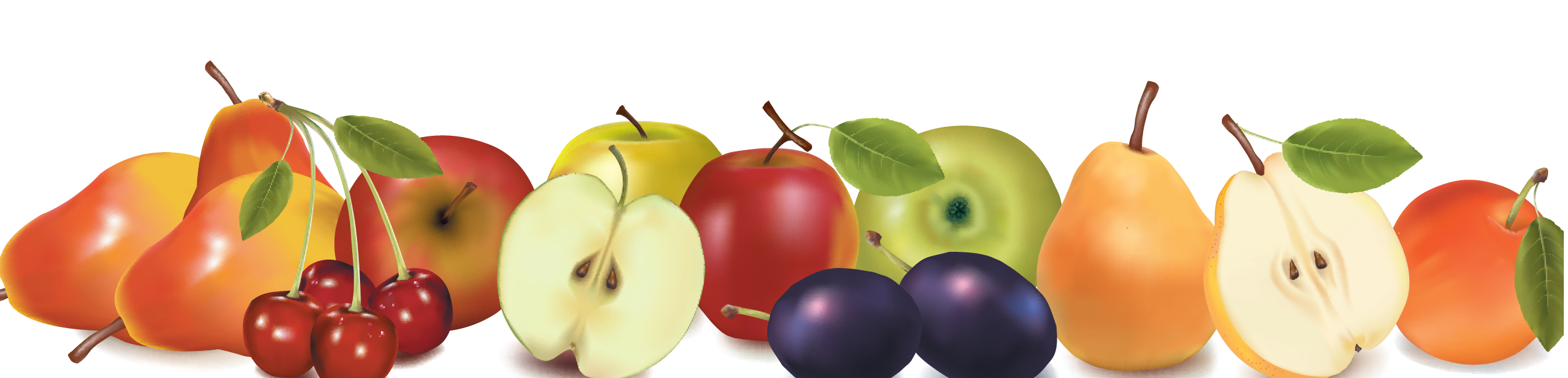 Fruit border png. Bigstock two design borders