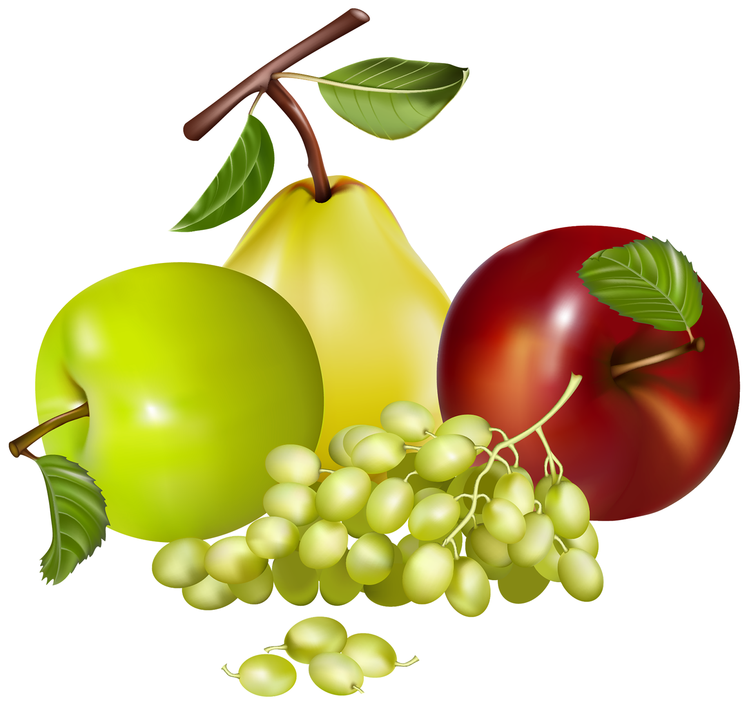 Fruit clip art png. Mixed fruits clipart best